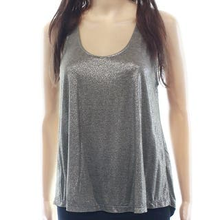 LUSH NEW Silver Women's Size XS Scoop-Neck Tank Cami Sleeveless Top|https://ak1.ostkcdn.com/images/products/is/images/direct/04751cad9193dada1d49b8d7731eb5a17b754840/LUSH-NEW-Silver-Women%27s-Size-XS-Scoop-Neck-Tank-Cami-Sleeveless-Top.jpg?impolicy=medium