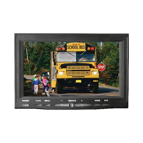 Pyle plcm7700 pyle 7 monitor w/ rearview license plate camera