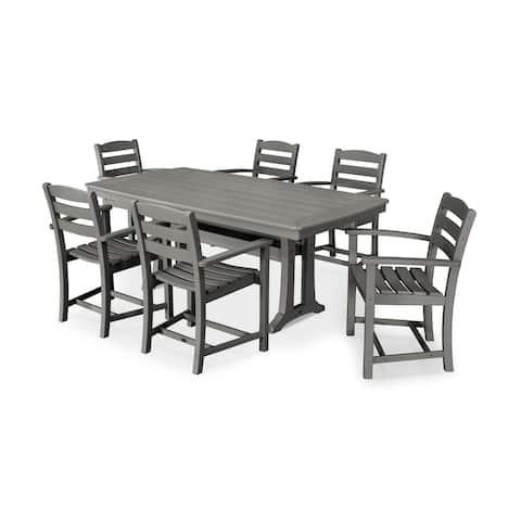 POLYWOOD 7 Piece La Casa Arm Chair Dining Set