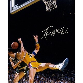 Kevin McHale Taking Out Rambis 16x20 Photo