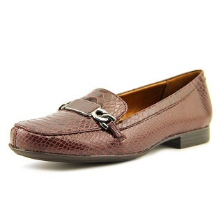 Naturalizer Radka W Round Toe Leather Loafer