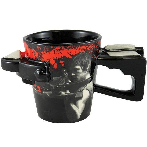 The Walking Dead Daryl Crossbow Coffee Mug - Multi