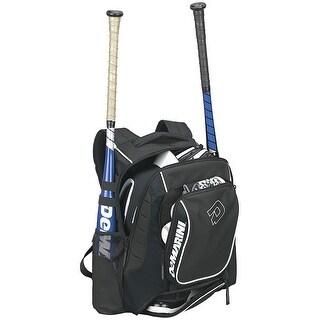 DeMarini Momentum Baseball/Softball Backpack (Black)