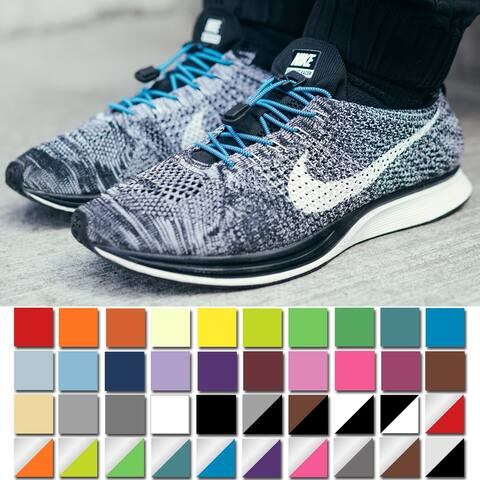 Xpand Laces No-Tie Quick-Release One Size Elastic Shoelaces - One Size