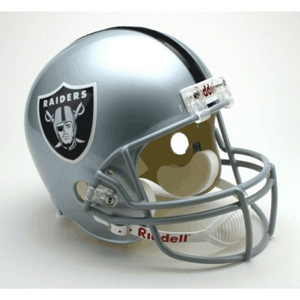 0a007880c Shop Oakland Raiders Riddell Deluxe Replica Helmet - Free Shipping ...