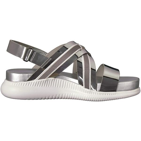 Cole Haan Womens 2.Zerogrand Criss Cross Sandal Flat