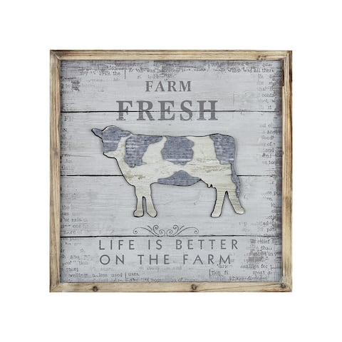 Fresh Dairy Wall Decor
