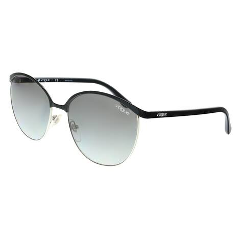 Vogue VO4010S 352/11 Black/Silver Aviator Sunglasses - 57-17-140