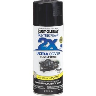 Rust-Oleum Black Spray Paint 249122 Unit: EACH