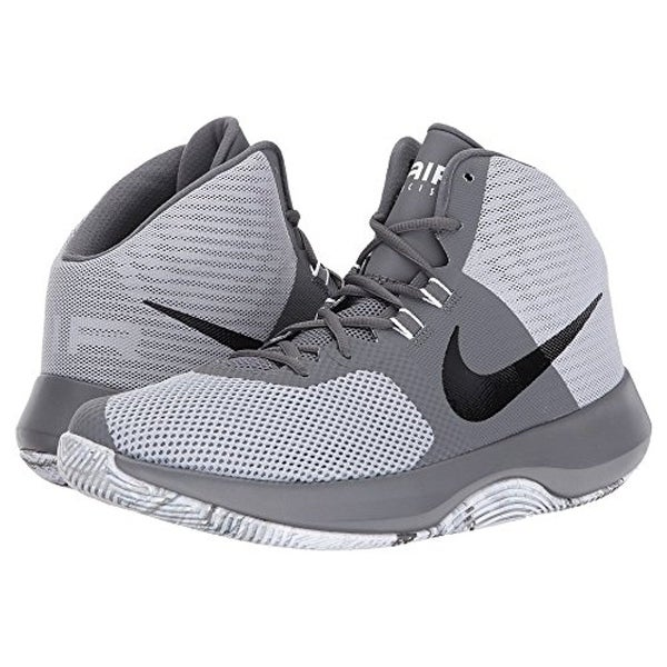 meet d3ddd df138 Nike Air Precision Wolf Grey Black Dark Grey Cool Grey Men  x27