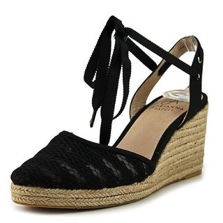 Adrianna Papell Penny Women Round Toe Canvas Espadrille