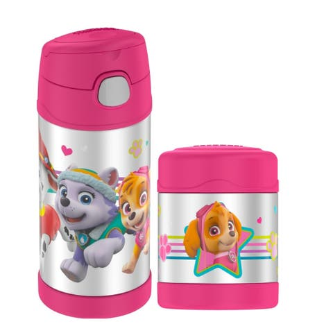 Thermos Funtainer 10 Oz Food Jar & Beverage Bottle Paw Patrol Pink - 10 Oz