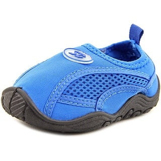 Starbay Zac Toddler Round Toe Canvas Blue Water Shoe
