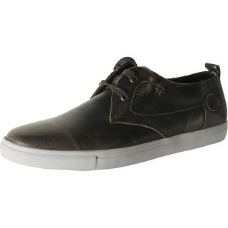 Joe's Jeans Mens Crest Leather Distressed Fashion Sneakers - 9.5