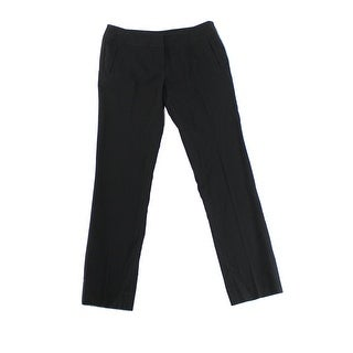 Amanda + Chelsea NEW Black Womens Size 0 Slim Fit Skinny Dress Pants