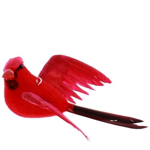 Flying Cardinal Ornament