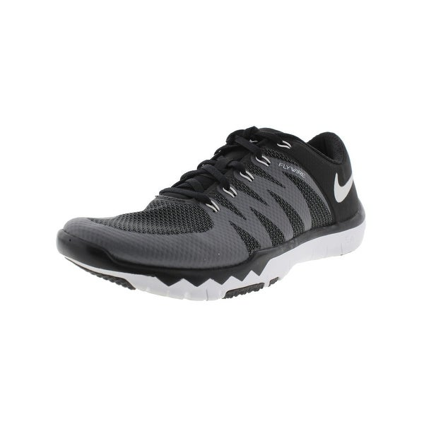 new concept d9bcd 91da0 Nike Mens Free Trainer 5.0 V6 Running, Cross Training Shoes Flywire Mesh -  6 medium