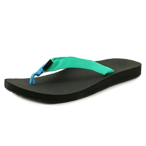 Shop Teva Original Flip Women Open Toe Canvas Blue Flip -5627