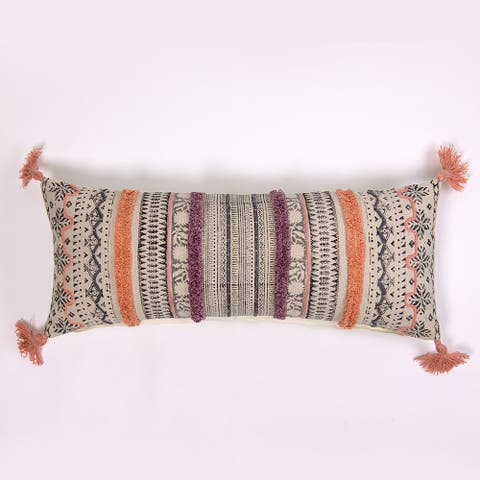 Tege Extra Long Bolster Pillow