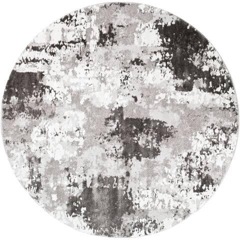 Porch & Den Meier Abstract Plush Area Rug