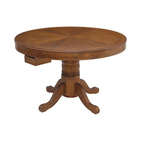 Ghilardi Amber Game Table with Cupholders