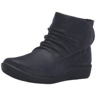 CLARKS Womens Sillian Chell Closed Toe Ankle Fashion Boots