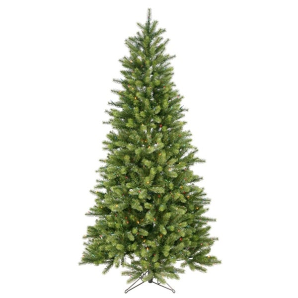 7' Pre-Lit Colorado Spruce Artificial Christmas Tree - Multi Lights