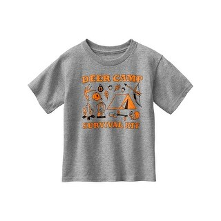 Legendary Whitetails Toddler Spunky Hunter Deer Camp T-Shirt
