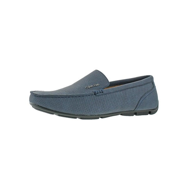 Calvin Klein Mens Manny Loafers Moc Toe Driver