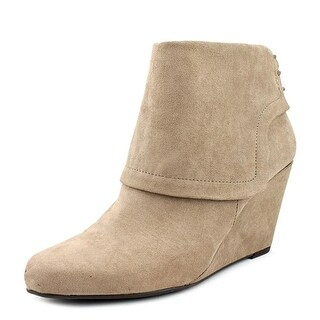Jessica Simpson Reaca Women  Round Toe Canvas Tan Ankle Boot