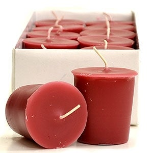 3 Boxes of Frankincense/Myrrh Votive Candles Votive Candles Pack: 12 per box 1.75 in. diameter x 2 in. tall