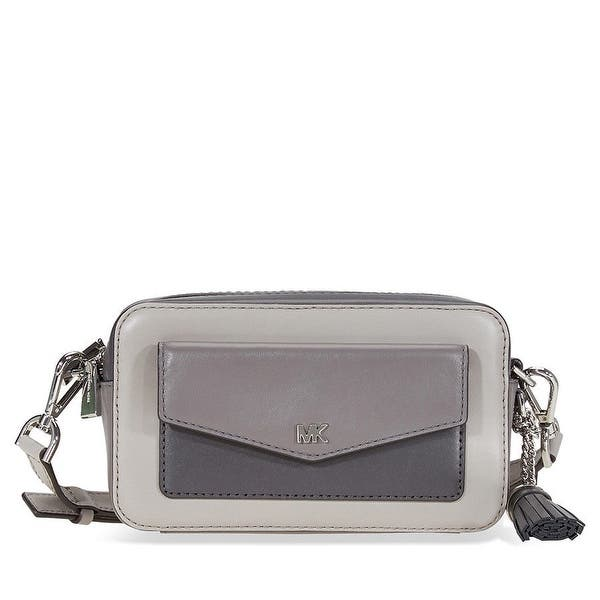 1aaefb305 Shop MICHAEL Michael Kors Tricolor Leather Camera Bag - Free Shipping Today  - Overstock - 26411987