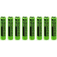 Battery for All Brands Telephones NIMH AA (8-Pack) NiMh AA Batteries 2-Pack