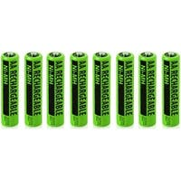 Replacement NiMH AA Battery For Panasonic (8 Pack)