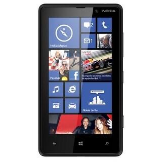 Nokia Lumia 820 RM-824 8GB Unlocked GSM 4G LTE Windows OS Cell Phone - Black