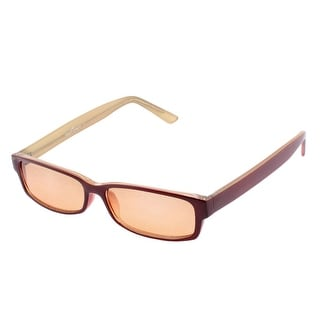 Unique Bargains Plastic Rectangular Full Frame Single Bridge Sporting Sunglasses for Women