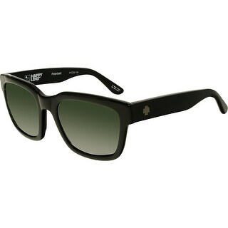 Spy Men's Polarized Trancas 673240038864 Black Square Sunglasses