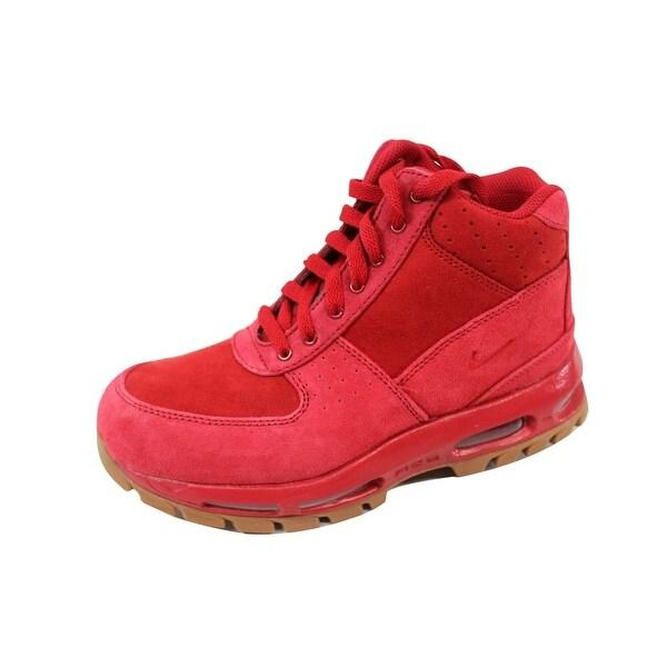 b69e9b75c0 Shop Nike Grade-School Air Max Goadome Gym Red/Gym Red-Gum Medium ...