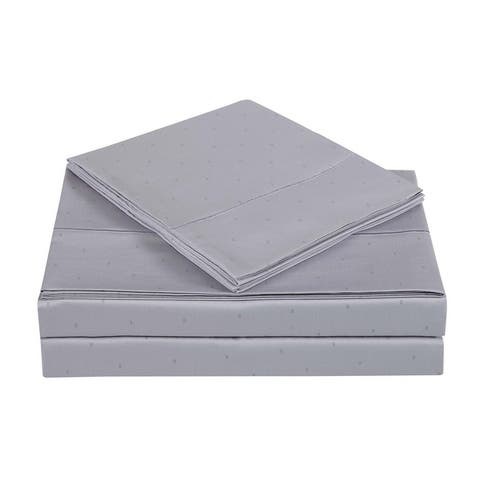 Charisma Classic Dot Printed Cotton Sateen Bed Sheet Sets