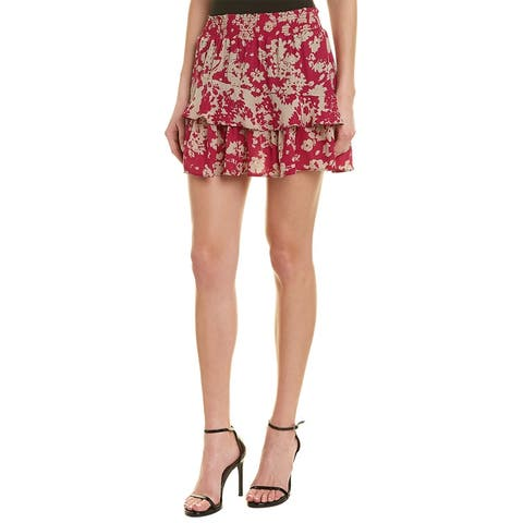 Ramy Brook Bonnie Silk Skirt