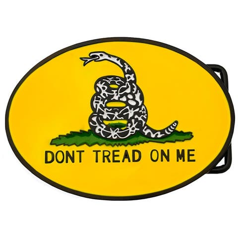 Dont Tread on Me Belt Buckle Gadsden Flag Design
