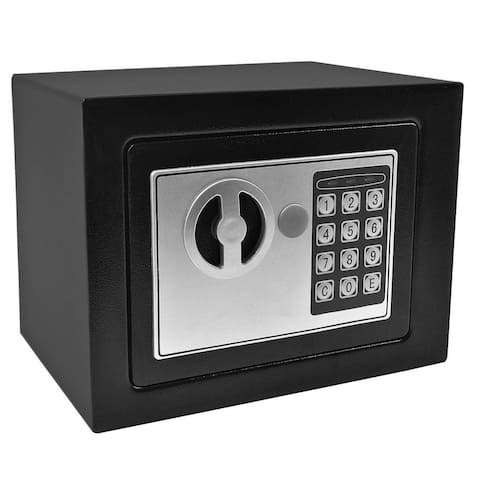 Black Small Digital Electronic Safe Box