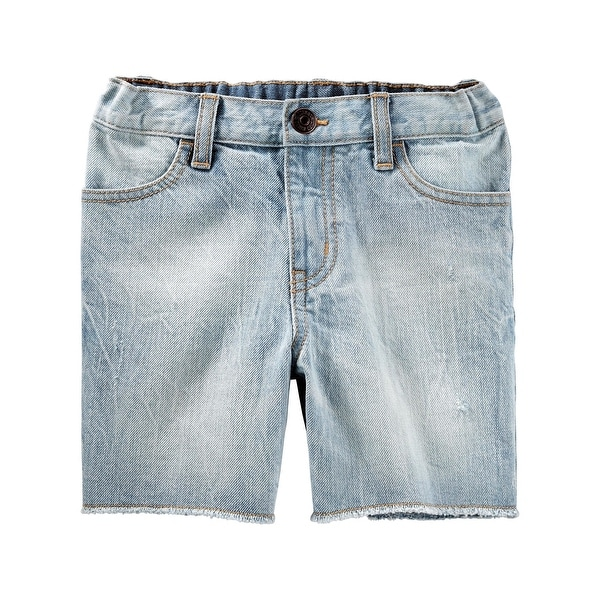 05bdf93a8 Shop OshKosh B'gosh Baby Boys' Denim Shorts- Igloo Wash, 6-9 Months - Free  Shipping On Orders Over $45 - Overstock - 26506940