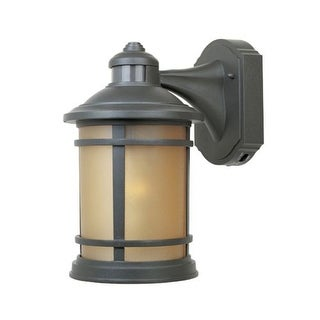 "Designers Fountain 2371MD-ORB 1 Light 7"" Cast Aluminum Wall Lantern with Motion Detector"