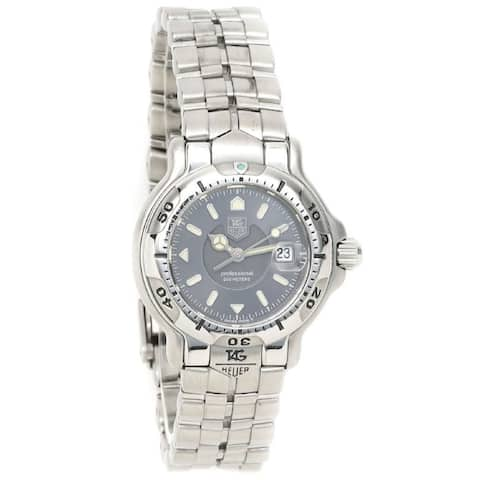 Tag Heuer Women's WH1312.BA0677 '6000' Stainless Steel Watch - Grey