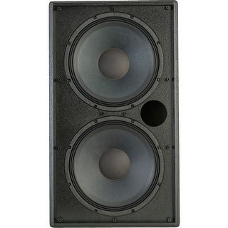 Klipsch KI-215 800 W RMS Indoor Woofer - Black - 70 Hz to 1 kHz - (Refurbished)