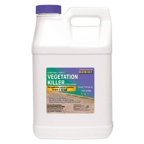 Bonide 5141 Ground Force Vegetation Killer, 2.5 Gallon