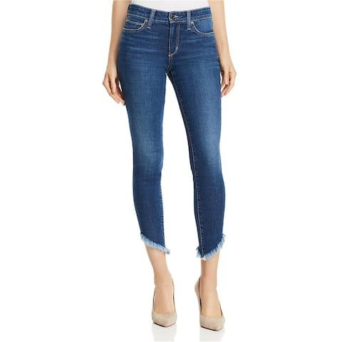 Joe's Womens The Icon Diagonal Hem Skinny Fit Jeans