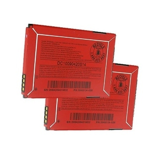 Replacement BTR6300B 3.7v Battery for HTC A3335 / G7 mini / A6388 Phone Models (2 Pack)