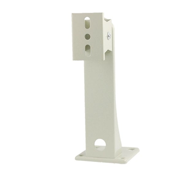 "Off White Aluminum Alloy 6.5"" Height Security CCTV Camera Wall Mount Bracket"